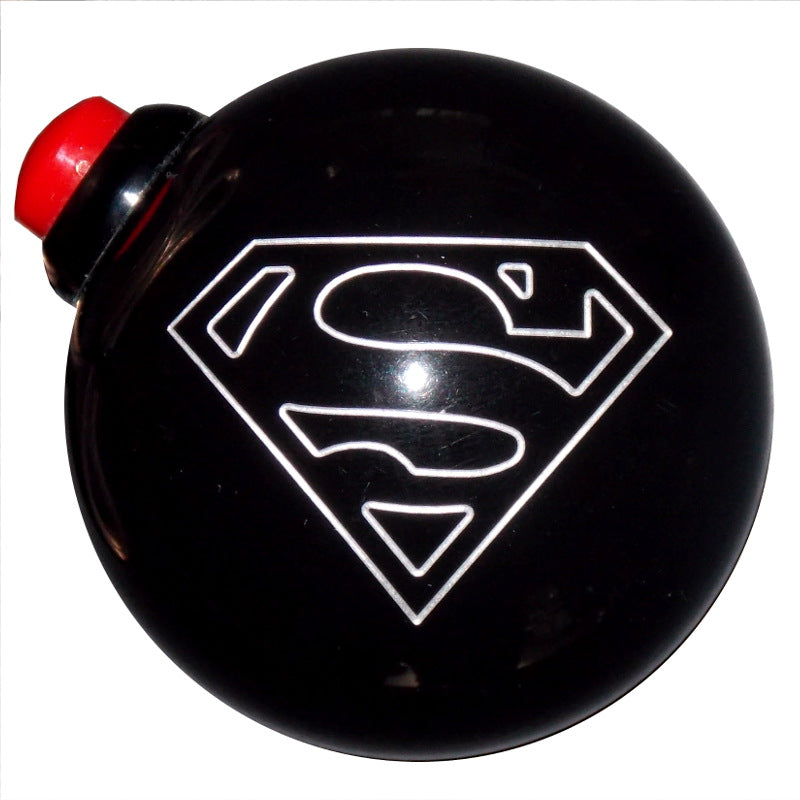 Black Superman Side Button Shift Knob