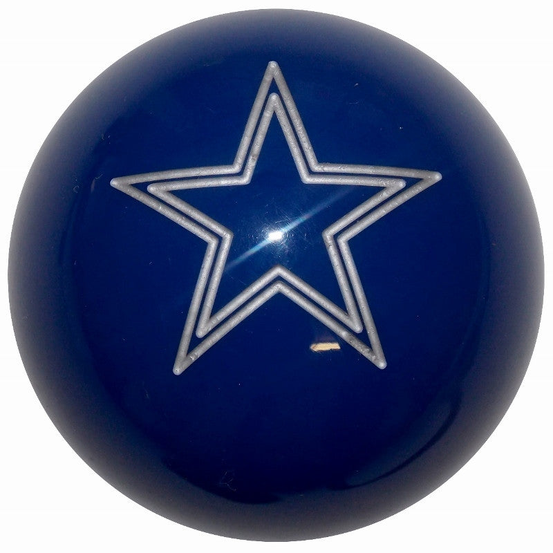 Dark Blue Engraved Star Brake Knob