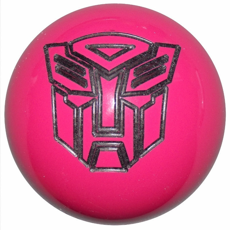 Hot Pink Autobot Shift Knob