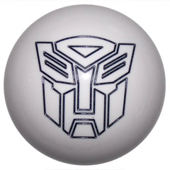 White/ Black Autobot Shift Knob