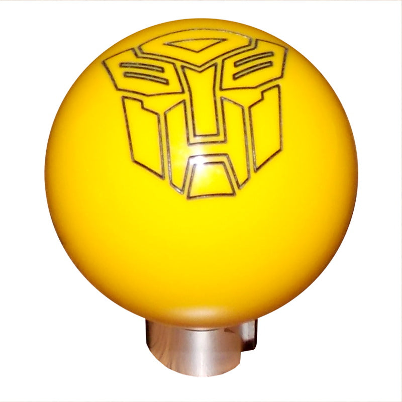 2013 up Camaro Yellow Autobot Shift Knob