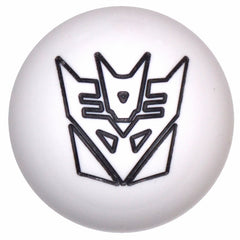 White/ Black Decepticon Shift Knob