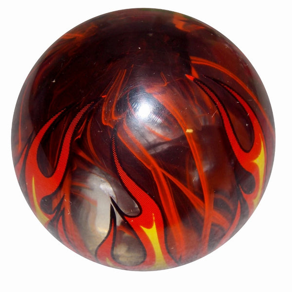 Smoky Orange Flame Shift Knob