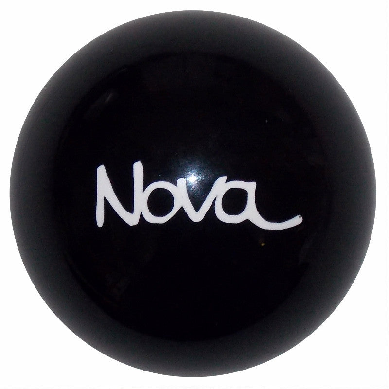 Black Nova Logo Shift Knob