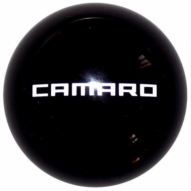 Black New Camaro Logo Shift Knob