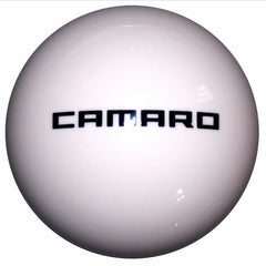 White New Camaro Logo Shift Knob