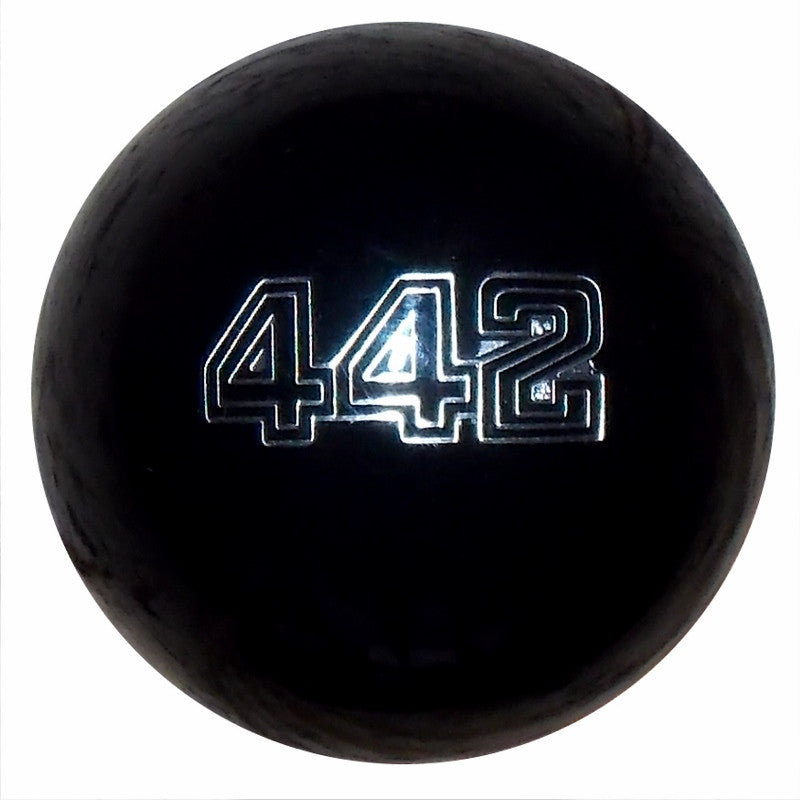 Black 442 Emblem Shift Knob