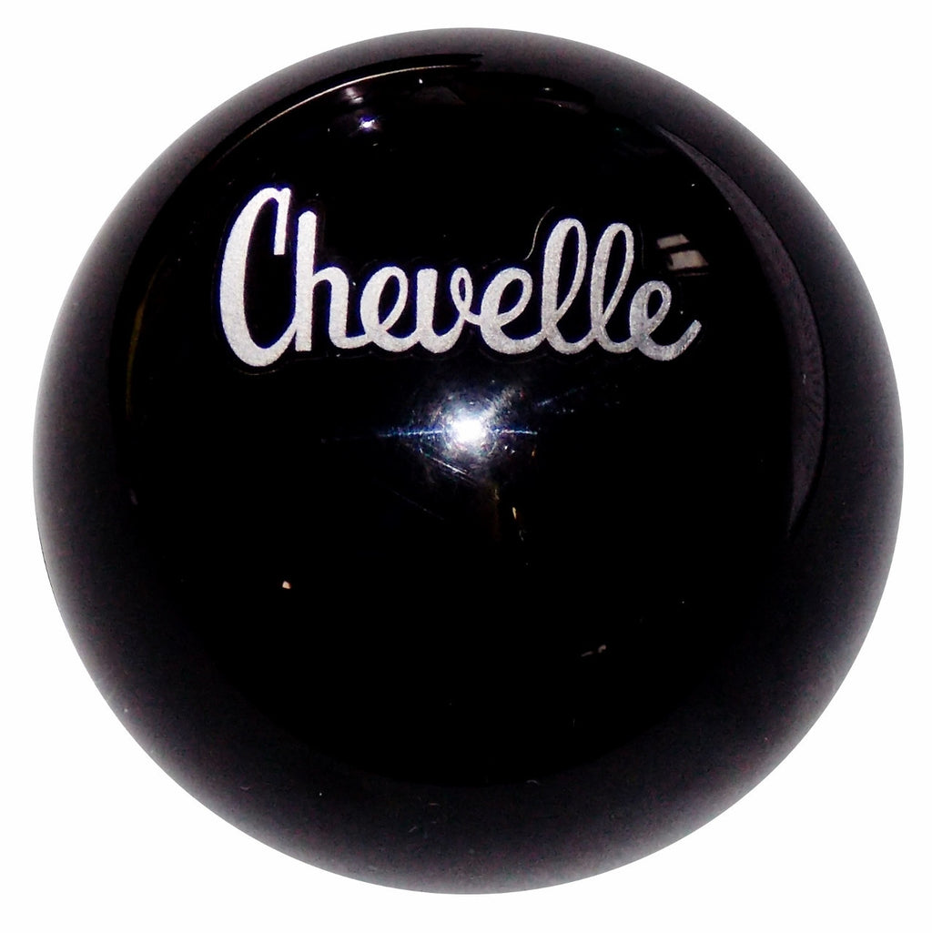 Black Chevelle Emblem Shift Knob