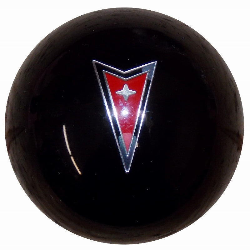 Black Pontiac Arrow Emblem Shift Knob