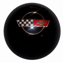 Black C4 Corvette Emblem Shift Knob