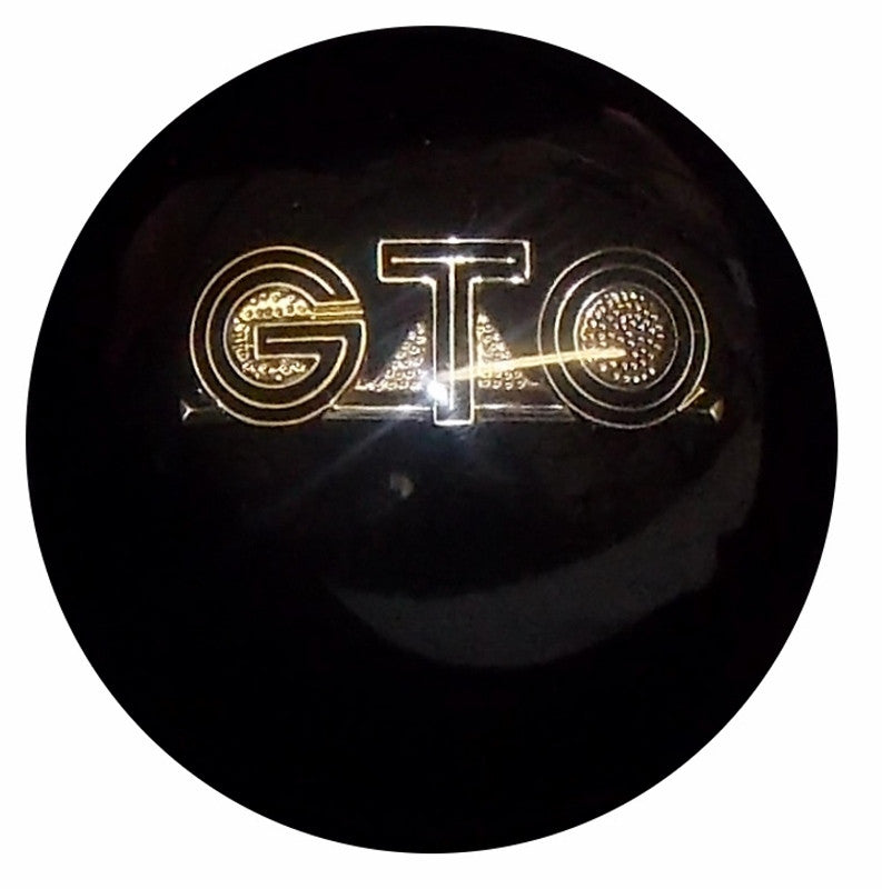 Black GTO Emblem Shift Knob