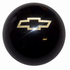 Black w/ Gold Bowtie Emblem Shift Knob