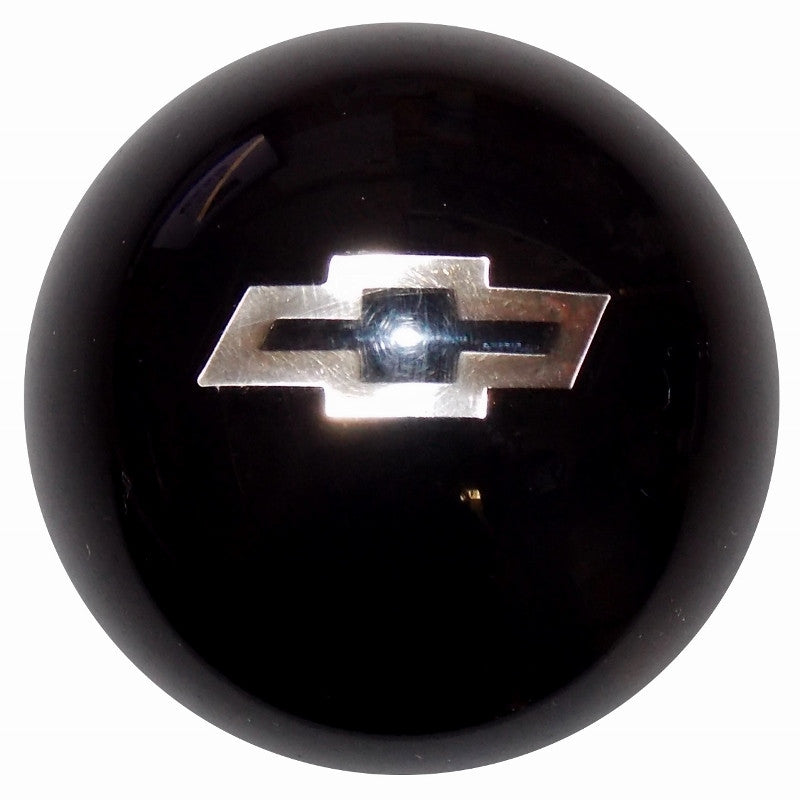 Black w/ Silver Bowtie Emblem Shift