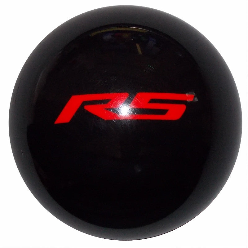 Black New Camaro RS Logo Shift Knob