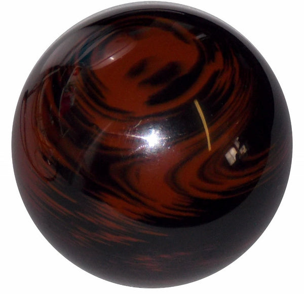Marbled Black and Brown Shift Knob