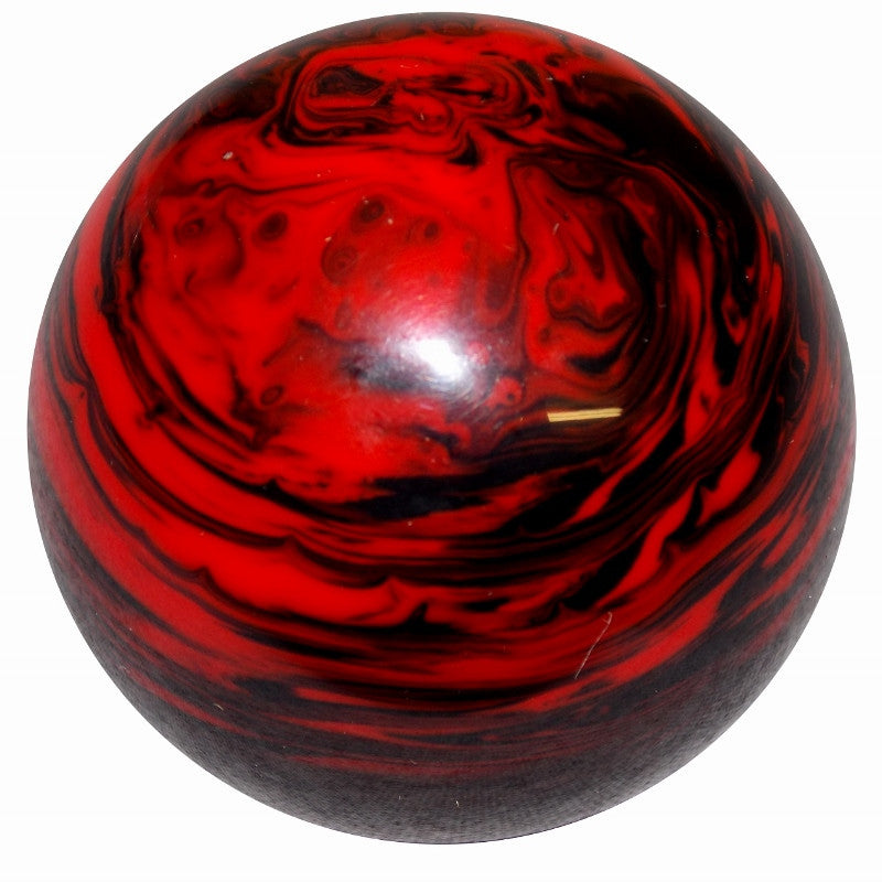 Red Black Marbled Brake Knob