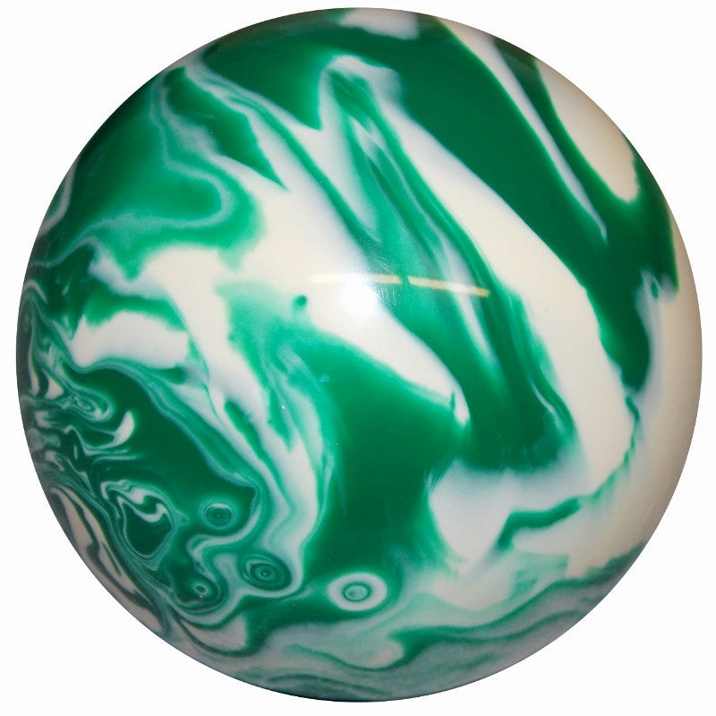 Marbled Green & White Brake Knob