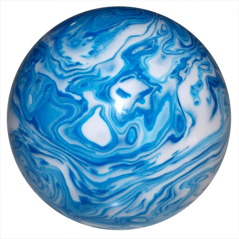 Marbled Blue & White Brake Knob