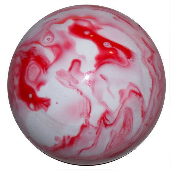 Marbled Red & White Shift Knob