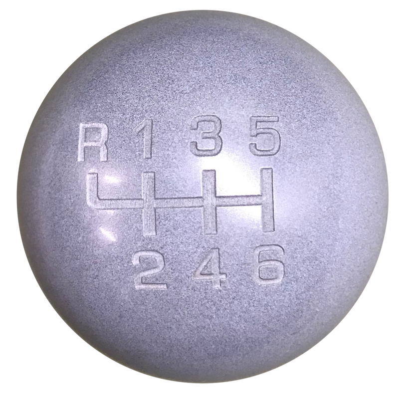 image of Heavy Weight Composite Gray New 6 Speed Shift Knob