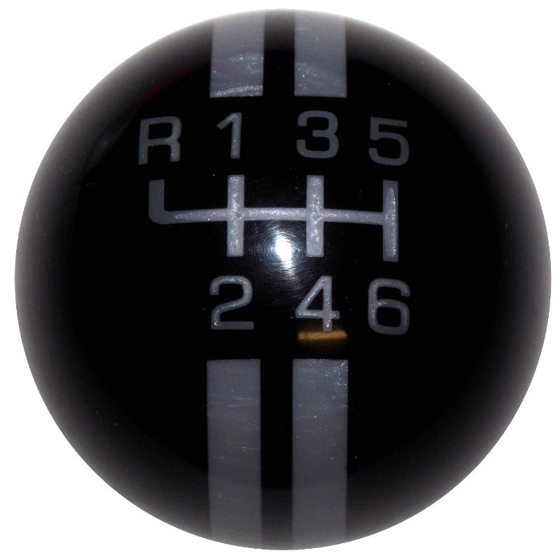 Rally New 6 Speed Black with Gray Shift Knob