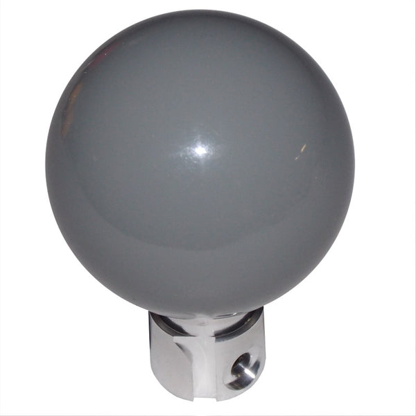 C6 C7 Corvette Solid Gray Shift Knob