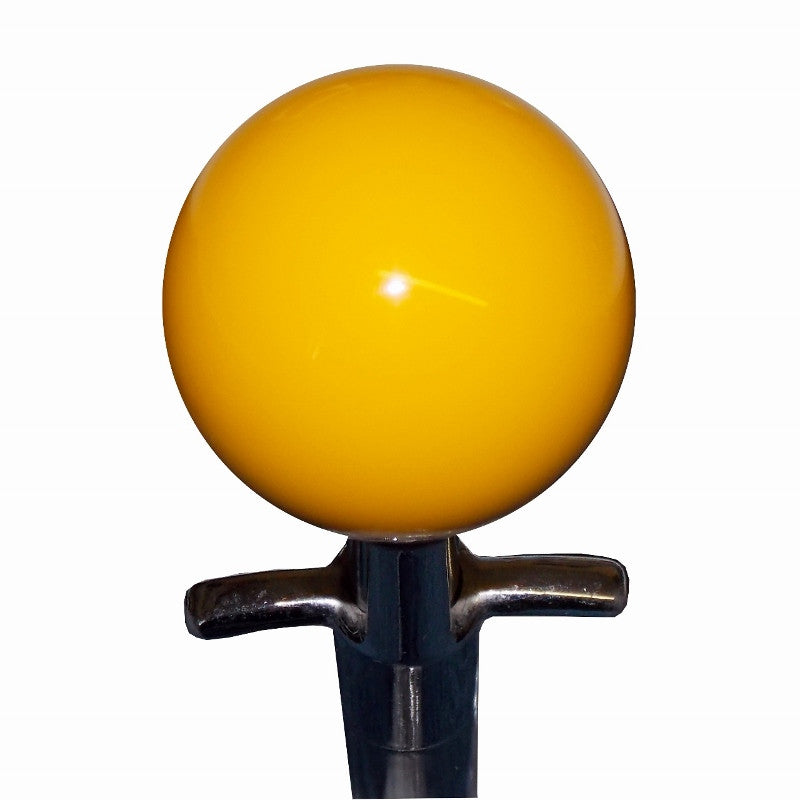 Yellow Muncie 4 Speed Shift Knob