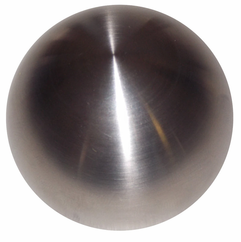 Brushed Stainless Round Heavy Weight Shift Knob