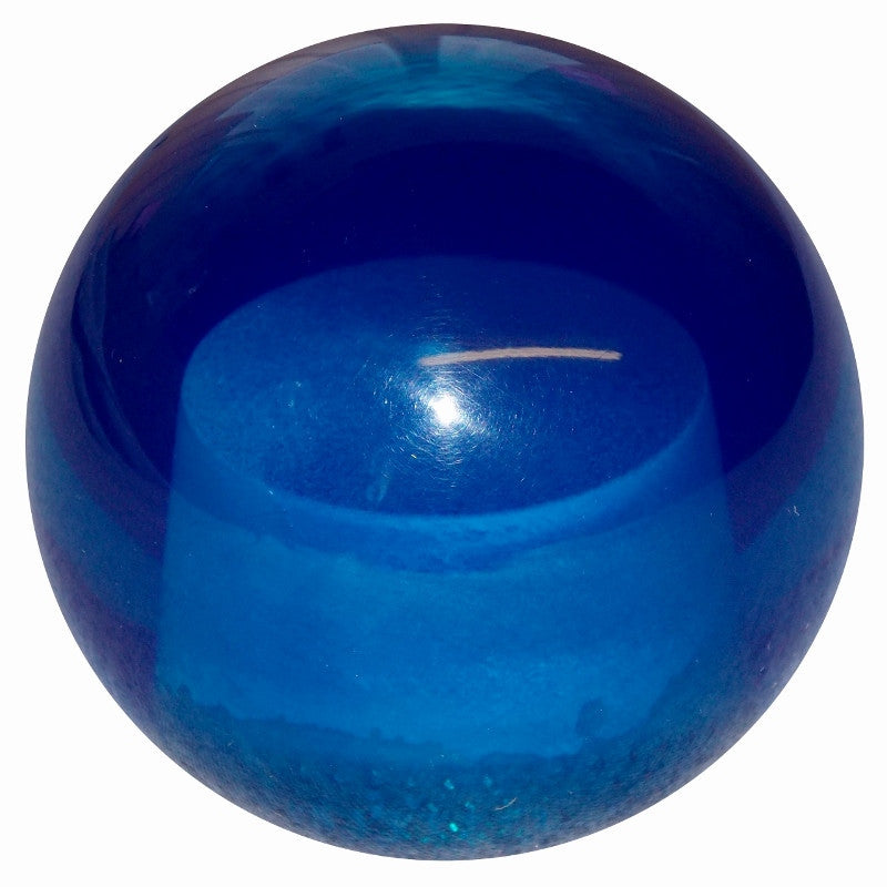 Transparent Blue Brake Knob