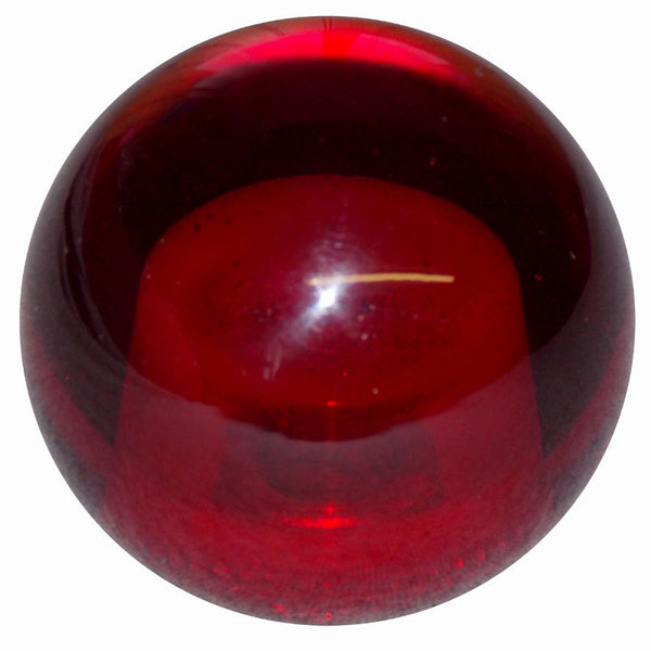 Transparent Red Brake Knob