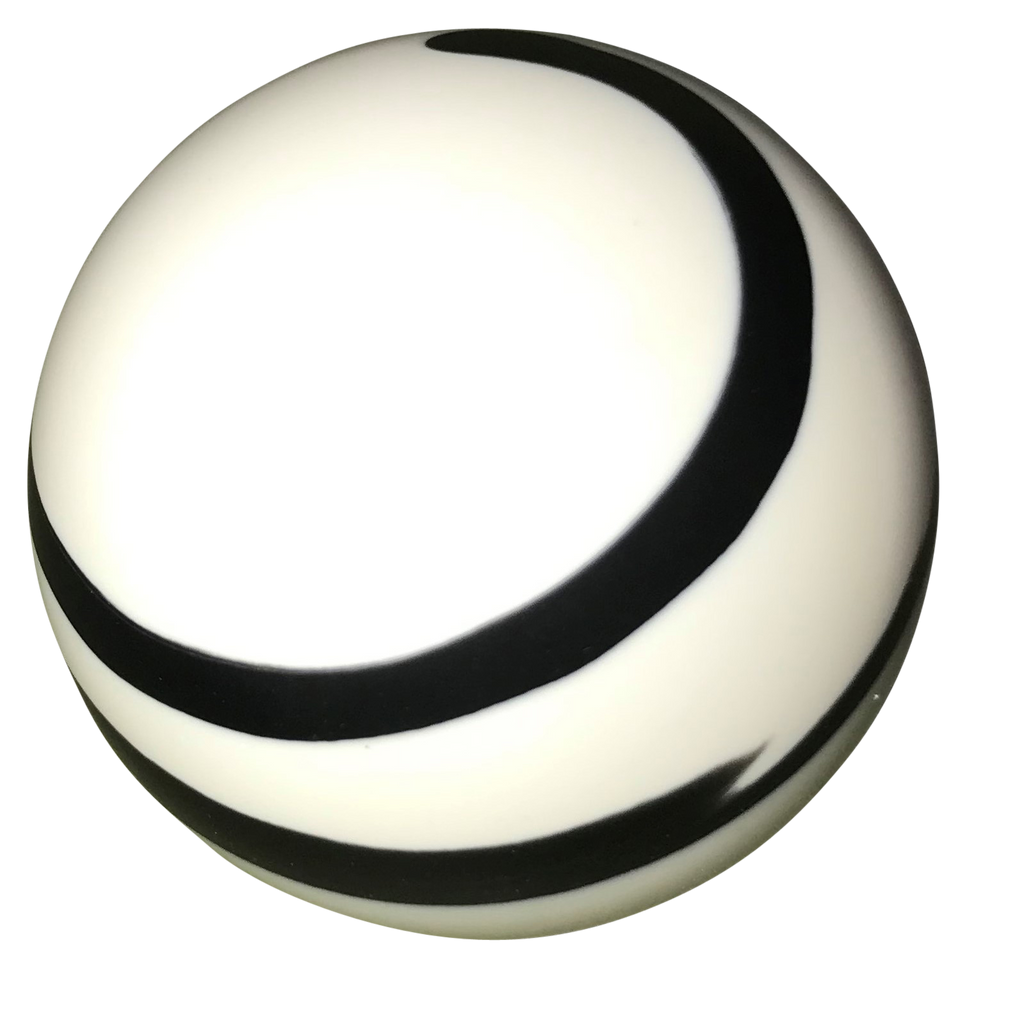 image of Twister White and Black Shift Knob