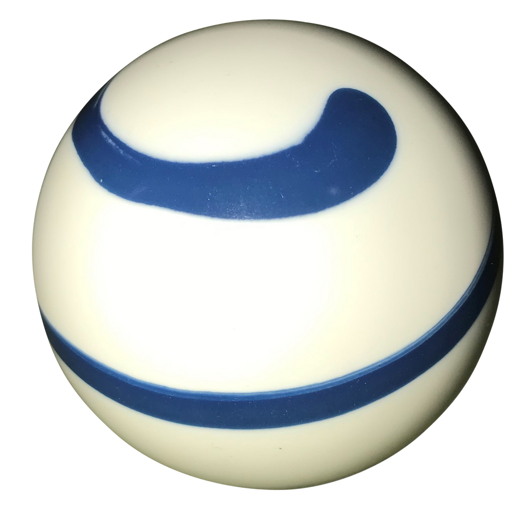 image of Twister White and Blue Shift Knob