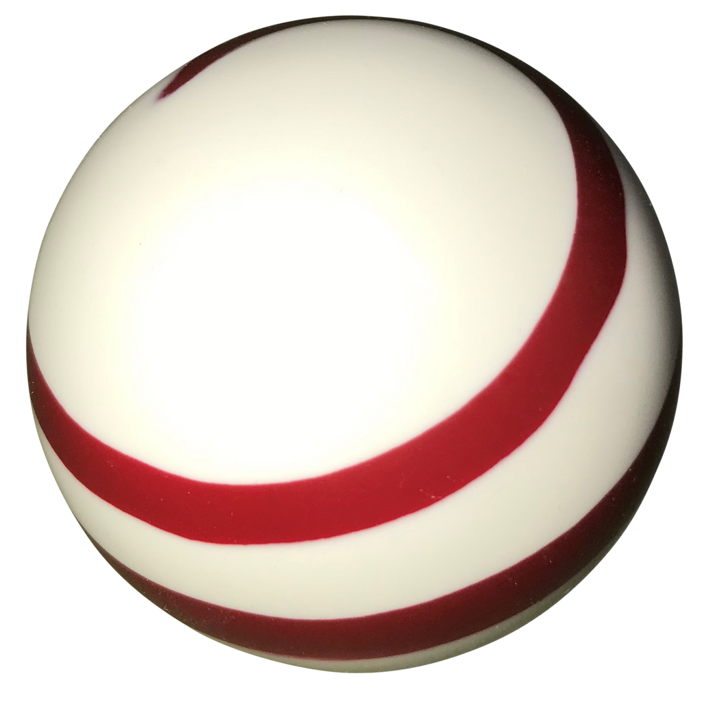 image of Twister White and Red Shift Knob