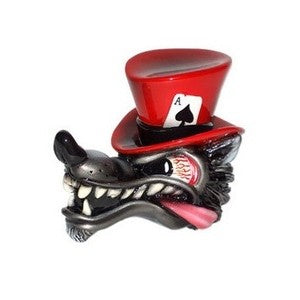 Top Hat Wolf - Red Shift Knob