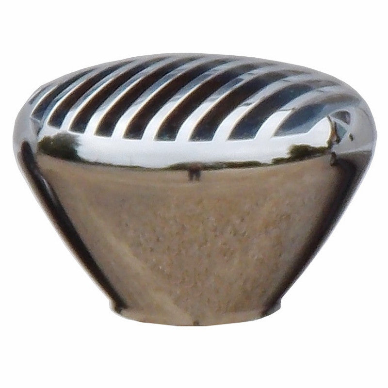 Chrome Billet Nostalgic Finned Brake Knob