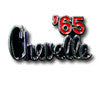 65 Chevelle Emblem Shift Knob