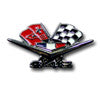 348 Flags Emblem Shift Knob