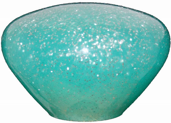 Nostalgic Teal Glitter Shift Knob