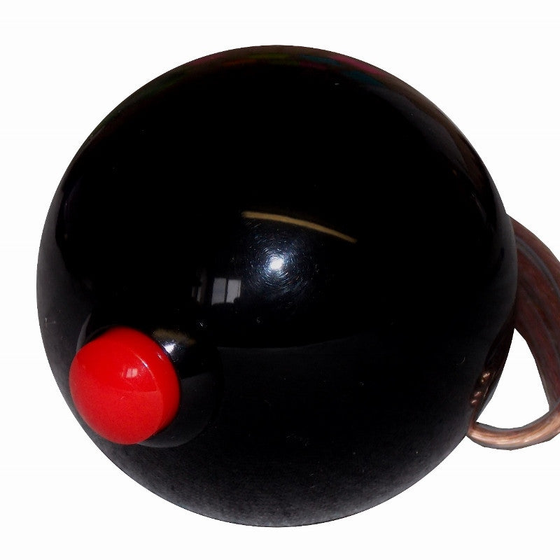 Black Side Mount Push Button Shift Knob