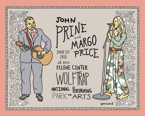 John Prine & Margo Price at Wolftrap - Jessie husband