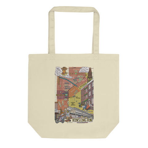 Kensington Map Tote - Jessie husband