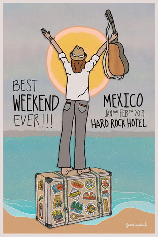 Best Weekend Ever!!! Poster - Jessie husband