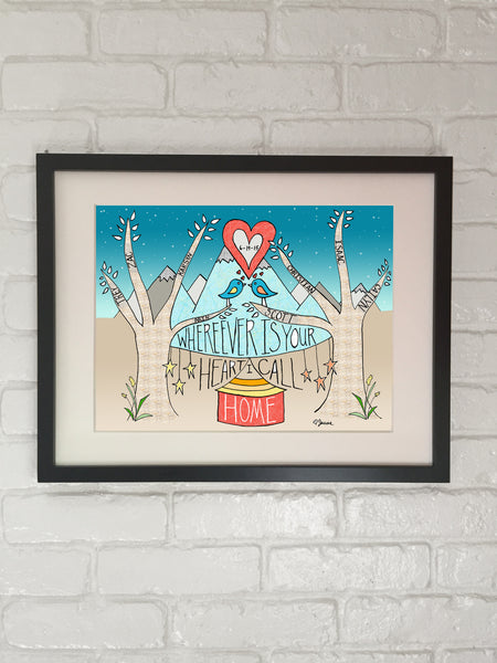 Arin & Scott custom & personalized artwork - Weddings, Anniversaries, Engagements - Jessie husband