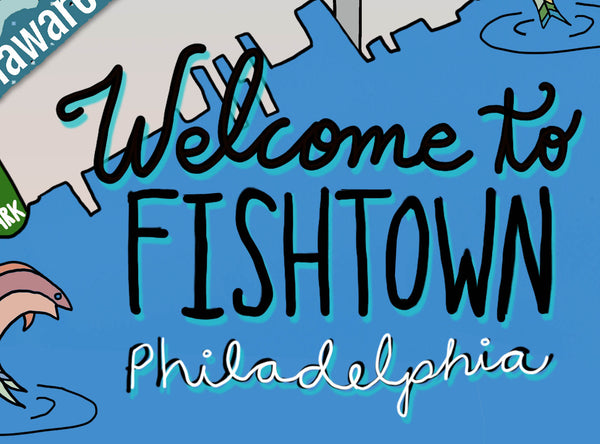 Map of Fishtown, Philadelphia - Jessie husband