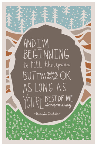 Beginning to feel the years, Brandi Carlile lyrics