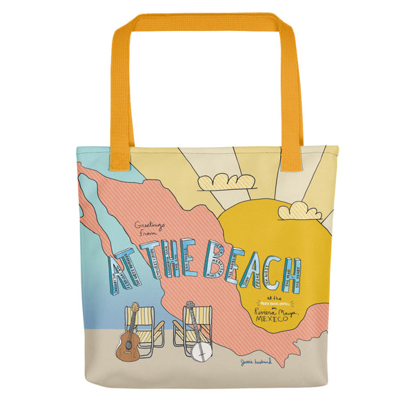 The Avett Brothers At The Beach Tote bag - 2018 - Jessie husband
