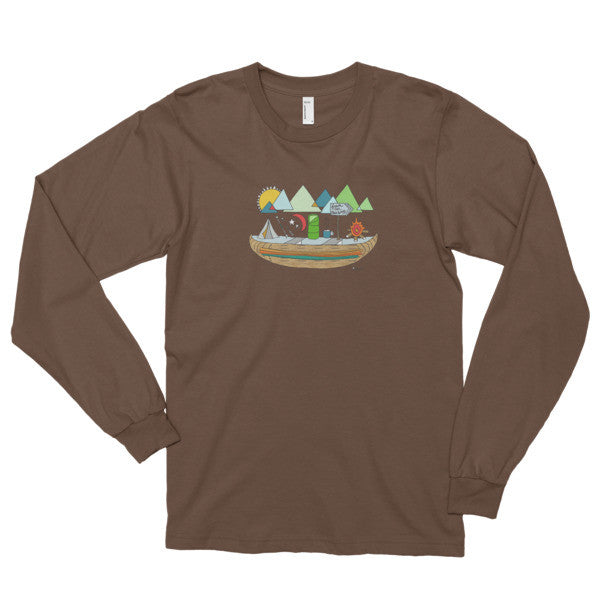Fresh Air Long sleeve t-shirt (unisex) - Jessie husband