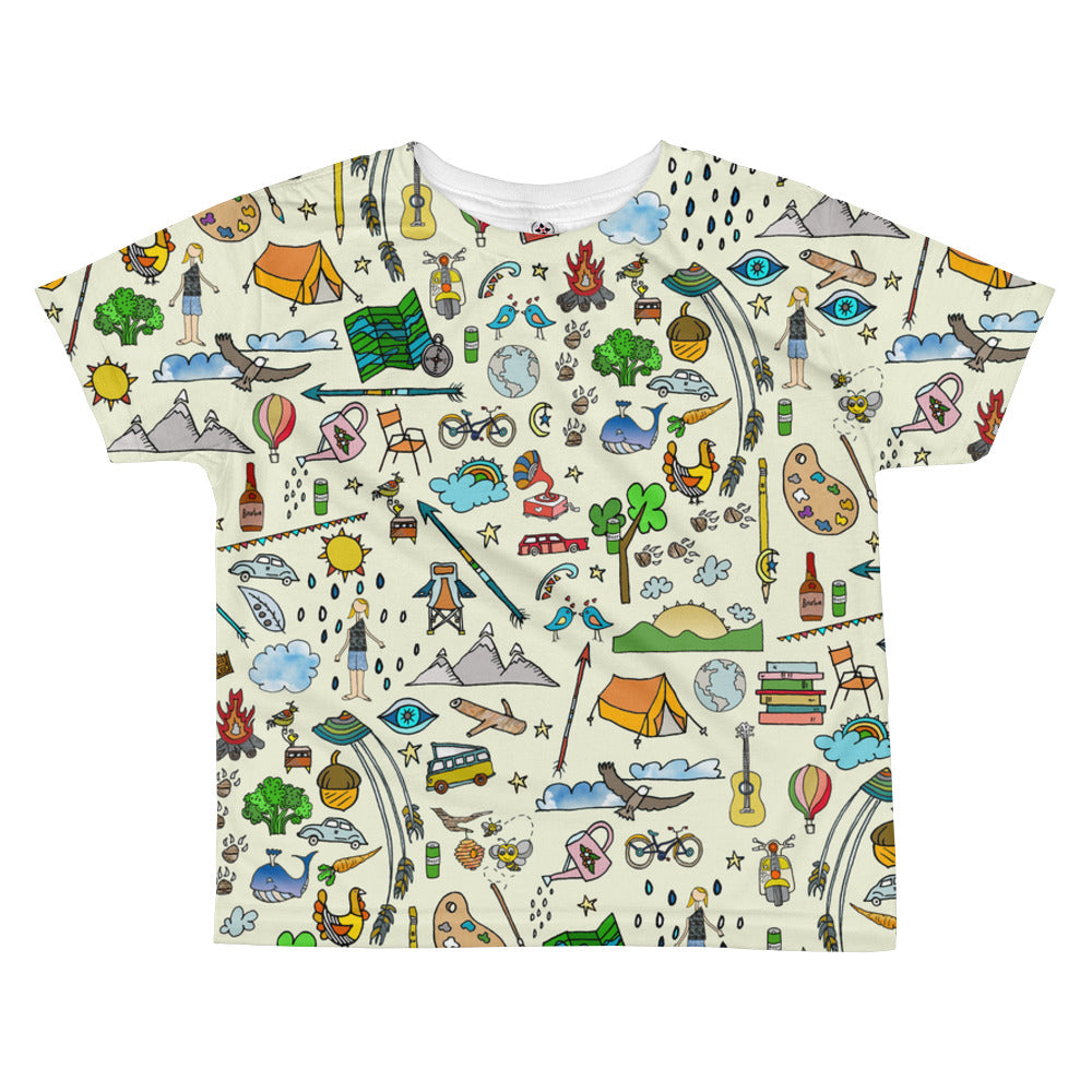 Favorite things kids tee - Jessie husband