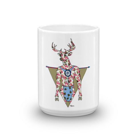 Deer Man Mug - Jessie husband