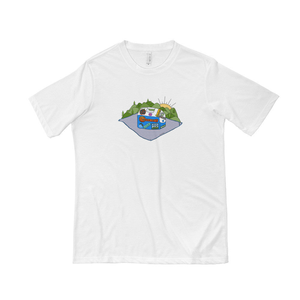 Mountain Jam Cooler Short Sleeve T-shirt - Jessie husband